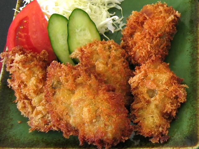 岩牡蠣(夏輝)カキフライ